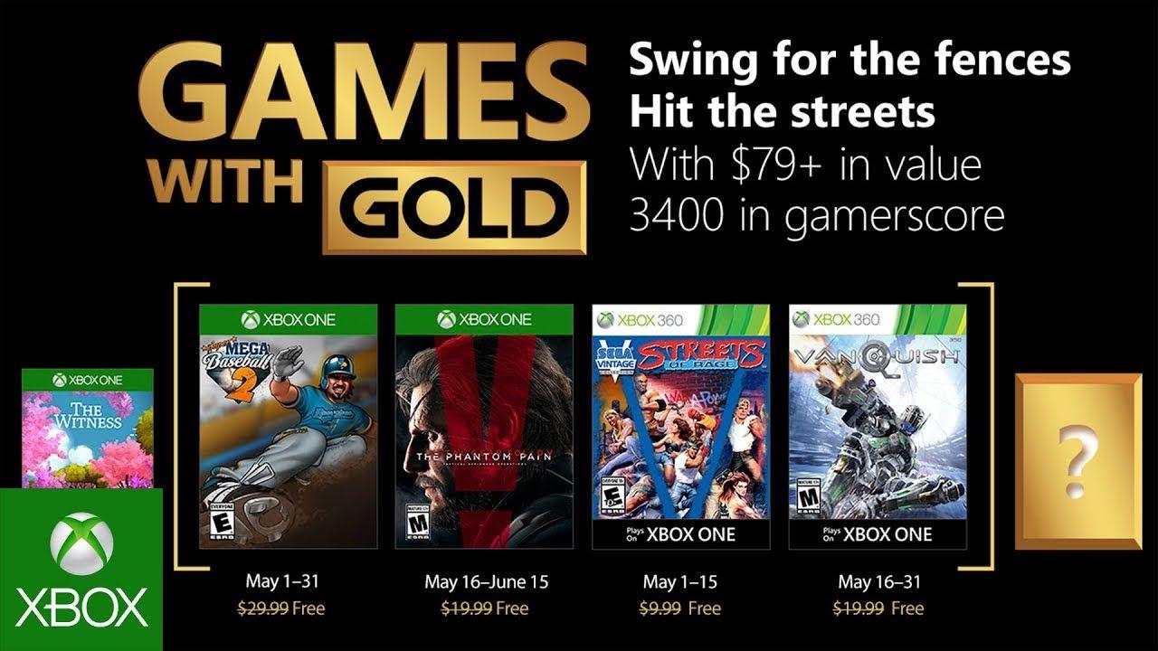 Estos Son Los Juegos Gratis De Games With Gold De Mayo Para Xbox