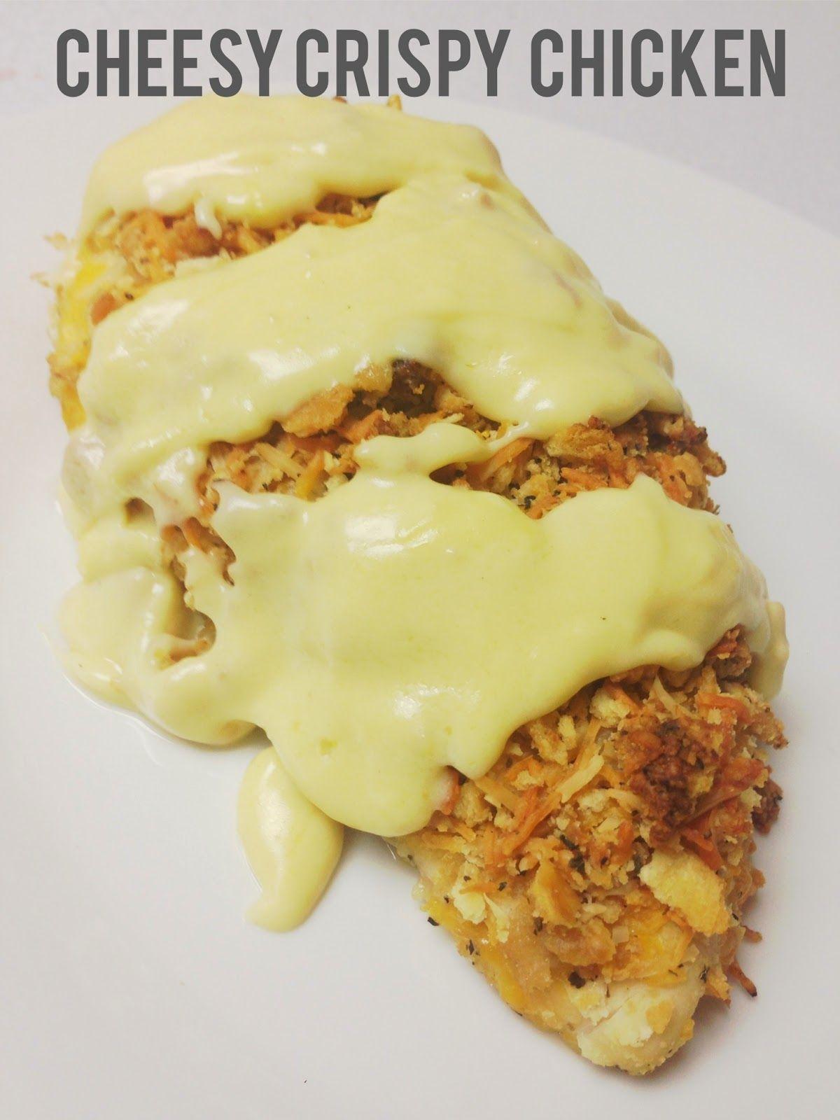 Cheesy Crispy Chicken - Lou Lou Girls