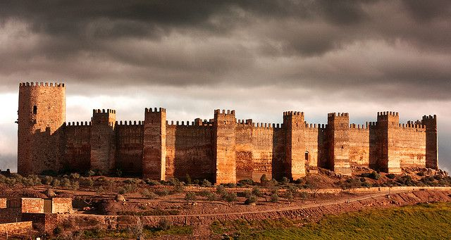Castillo De Burgalimar Medieval Castle Beautiful Castles Castle