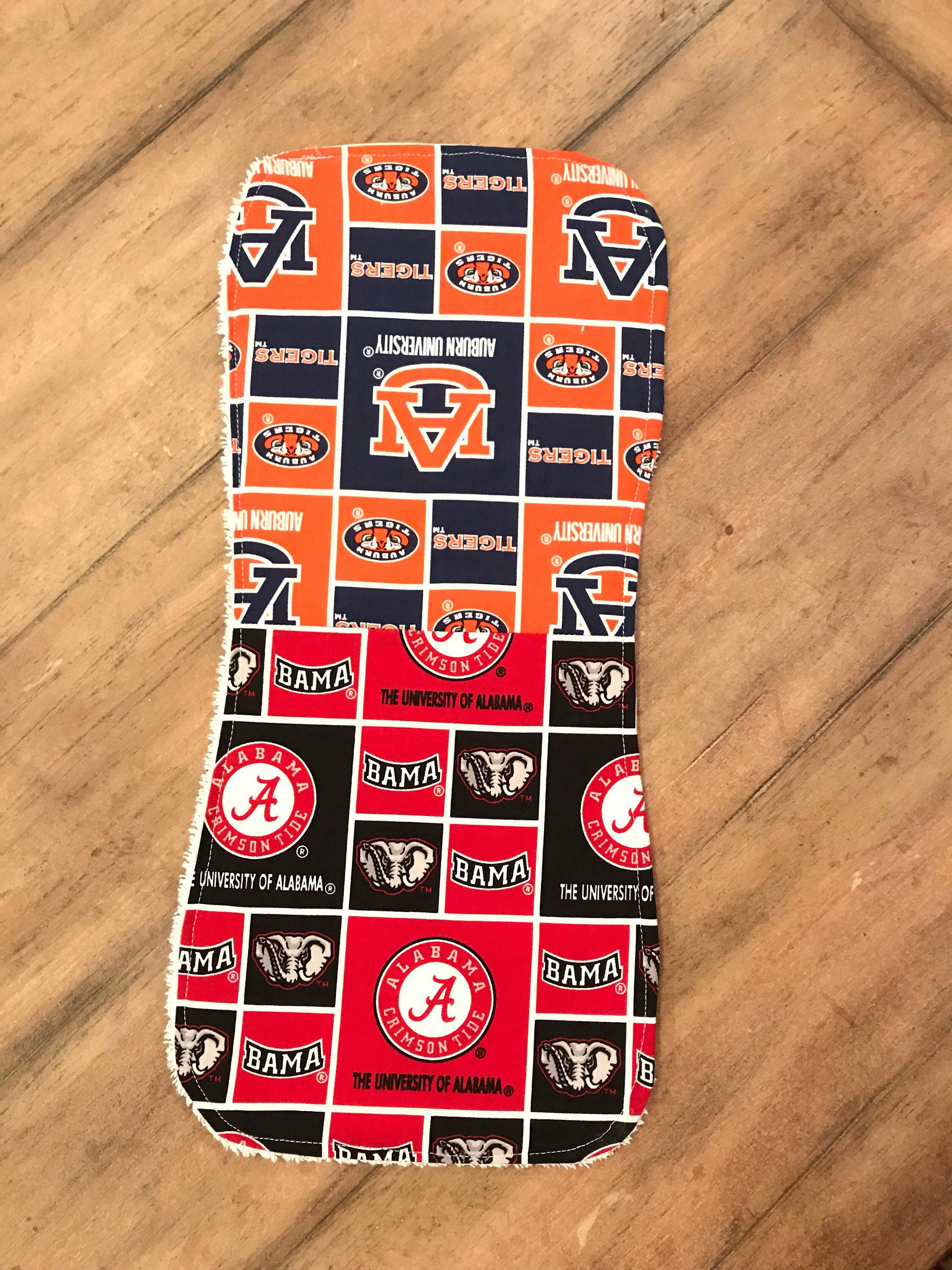 Baby Shop Auburn Baby Burp Cloth House Divided Alabama Auburn Mississippi State