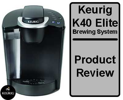 Keurig K40 Elite Brewing System With Images Keurig Brewing