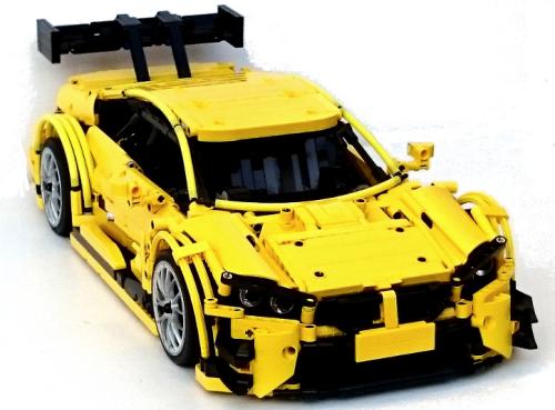 lego technic bmw m4 lego voiture lego lego et voiture. Black Bedroom Furniture Sets. Home Design Ideas
