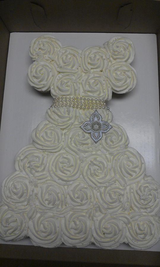 vestido de novia | cup cakes | pinterest | pastel de cupcakes