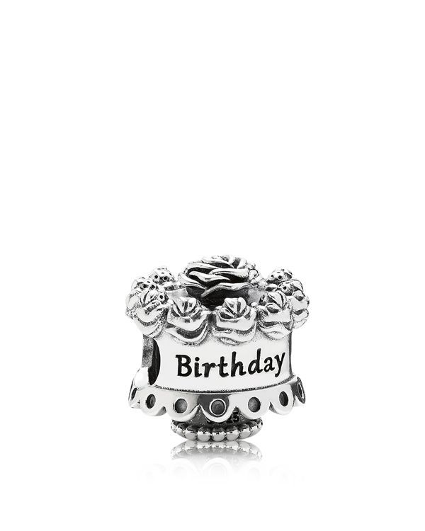 Pandora Charm Sterling Silver Happy Birthday Moments Collection