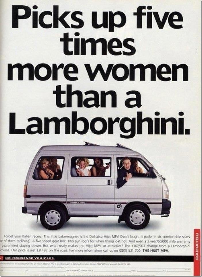 Classic: Daihatsu vs Lambo