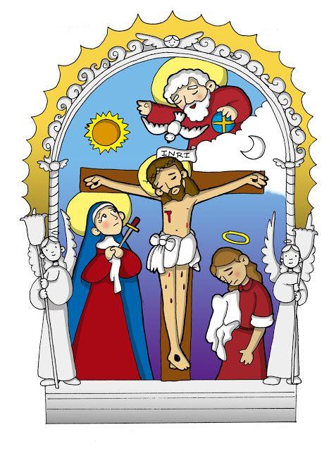 La Santidad Como Tarea Dibujos Del Senor De Los Milagros Para