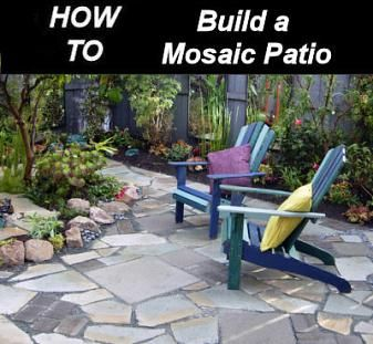 Build Your Own Mosaic Patio