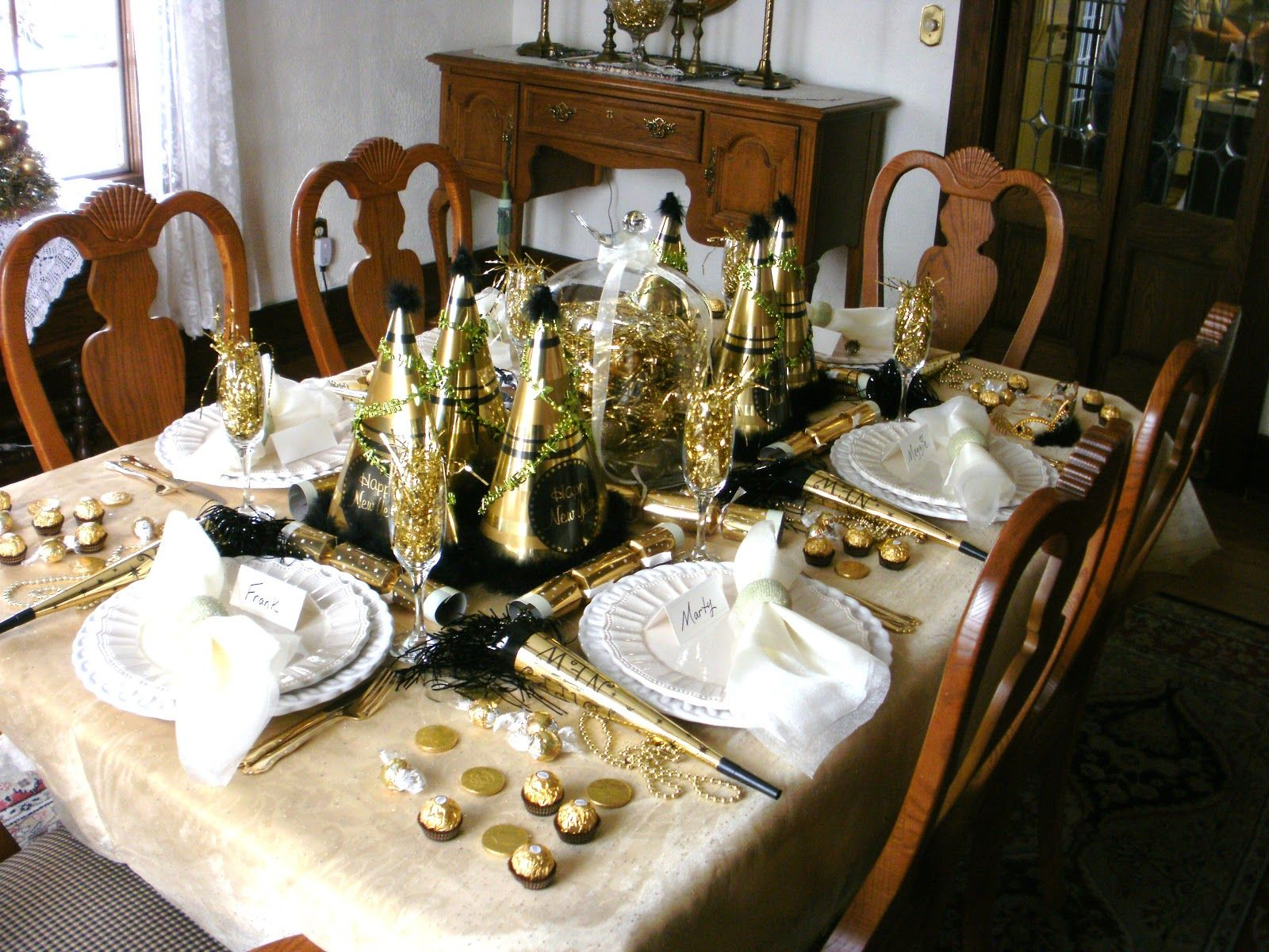 Pin by American Rent All on New Years Eve Table settings