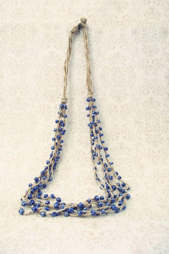 Crochet necklace | Artesanías interesantes | Pinterest | Patrones ...
