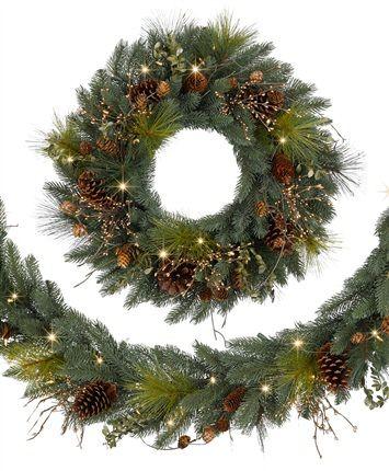 Classic Fraser Fir Festive Wreaths and Garlands Christmas