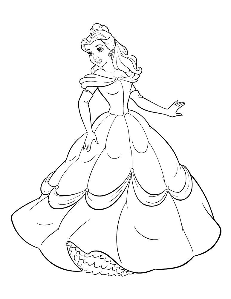 Film La Belle Et La Bete 2017 Coloriage Cricut Ideas Disney