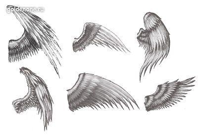 Картинки по запросу тату крылья на руке эскиз   Татуировки ...