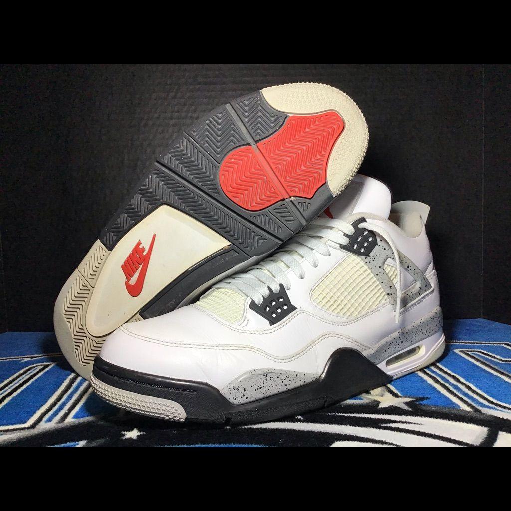 b4b49c03 Jordan Shoes   Mens Jordan Iv Cement 2016 89 Retro Sz 13 W Box   Color
