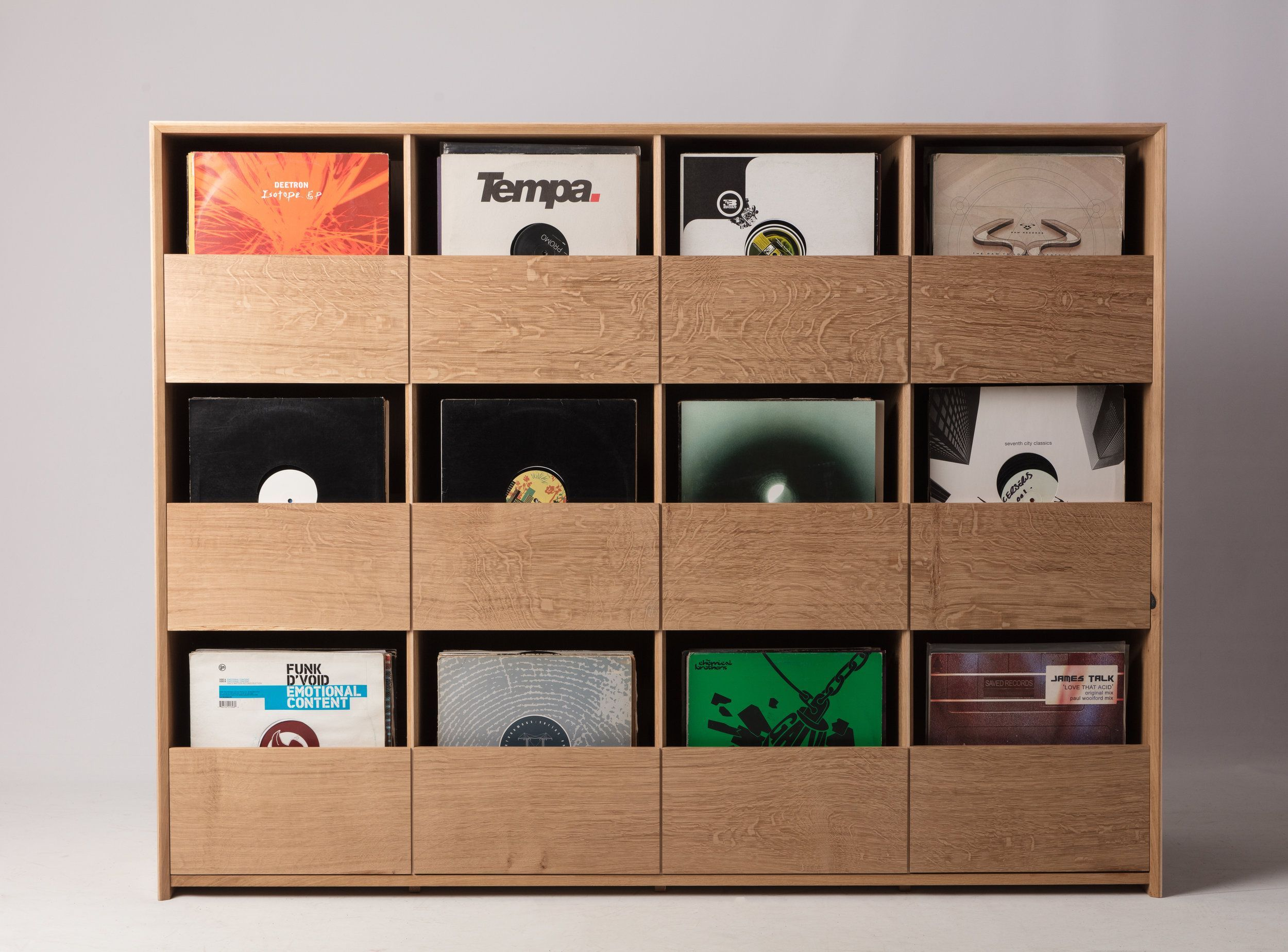 English Oak Vinyl Storage Cabinet Vinyl Storage Comic Book
