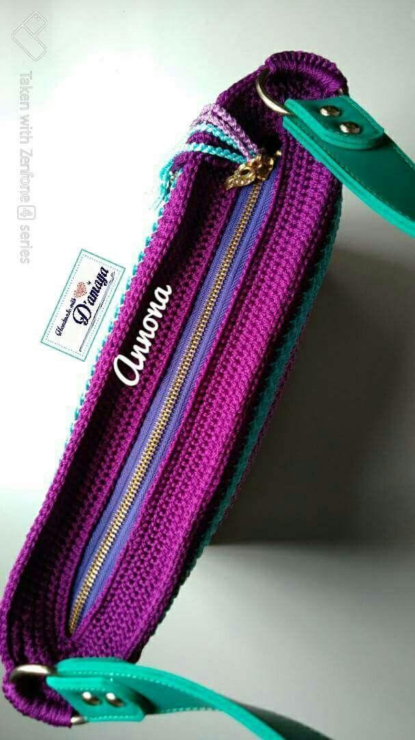 Ostaja, jossa on nahkaisen pohjapussin virkkaus - Artofit