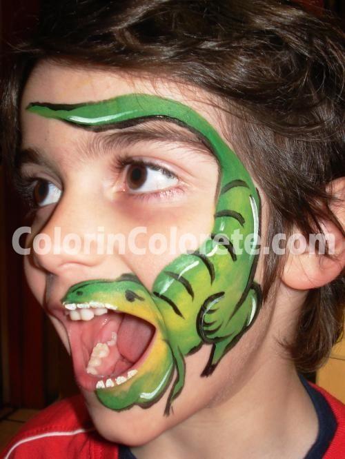 Maquillaje de niños Make Up niños Pinterest - maquillaje de halloween para nios