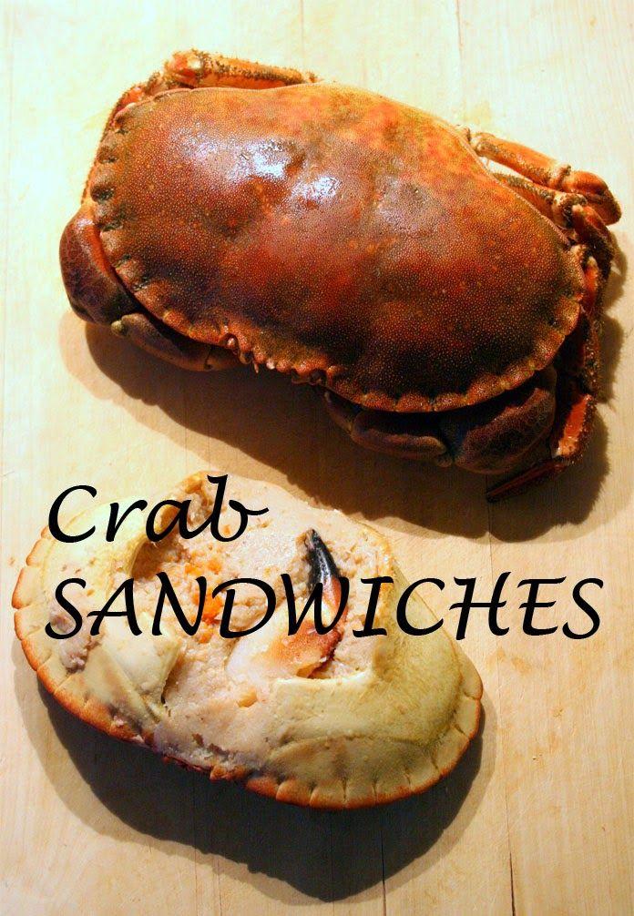 Recipe for delicious crab sandwiches