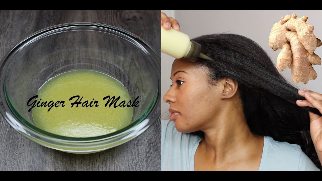 GINGER HAIR MASK EXTREME HAIR GROWTH Natural Hair