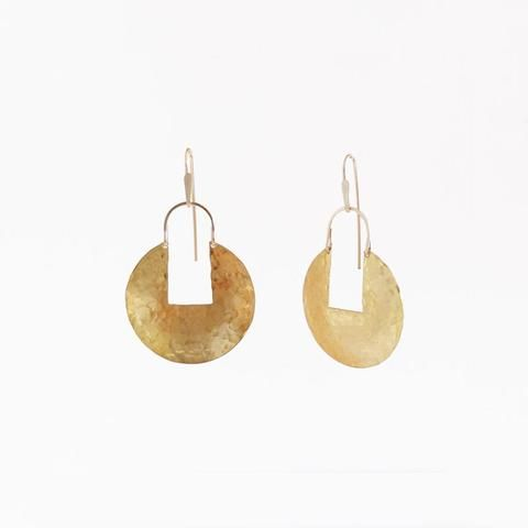 Small Medallion Earrings