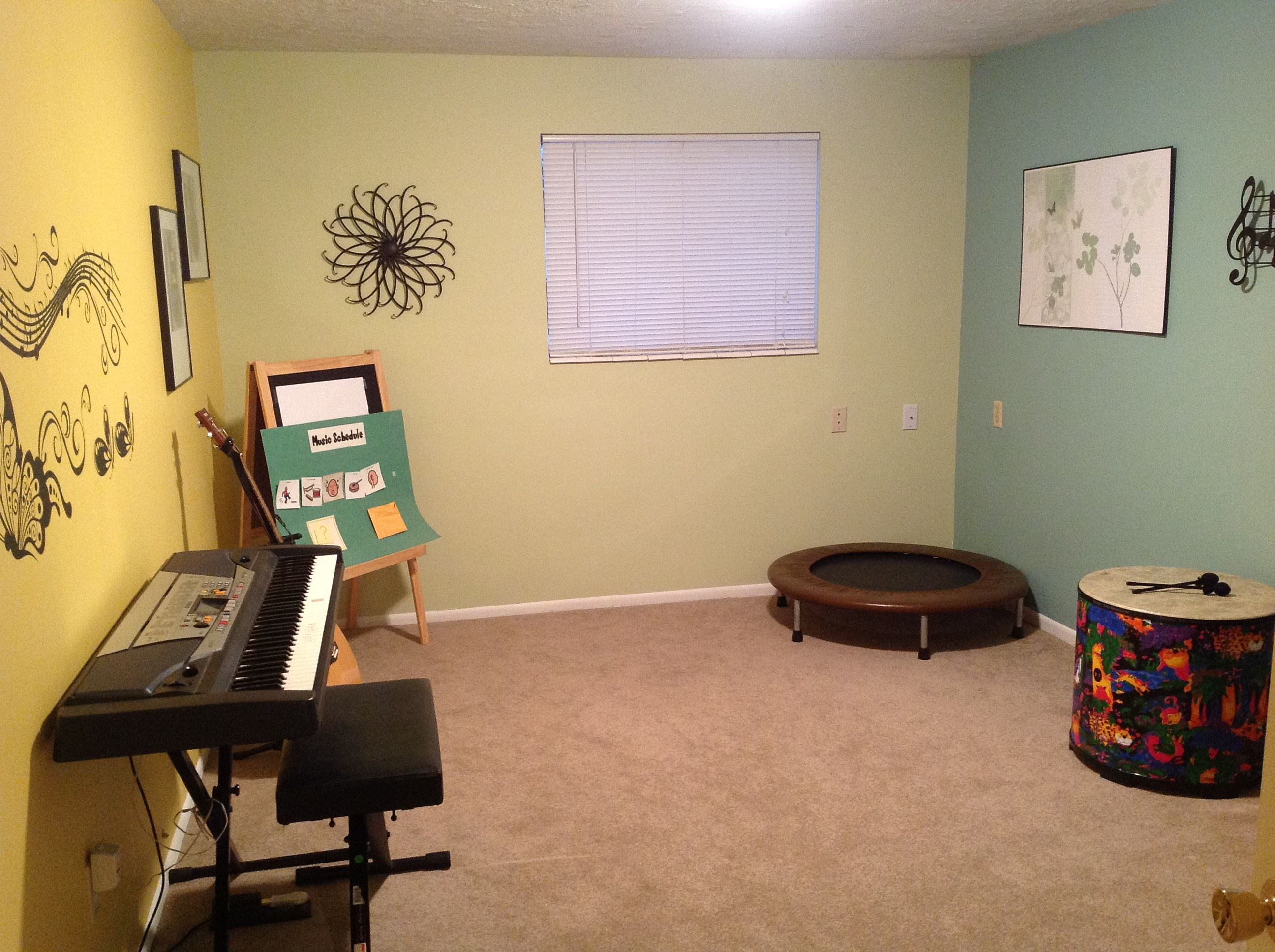Awesome music therapy room and home office! | Music Therapy ...