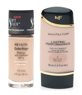 Battle Of The Drugstore Foundations Revlon S Colorstay Vs Max Factor S Lasting Performance Face Cream Cream For Oily Skin Drugstore Makeup