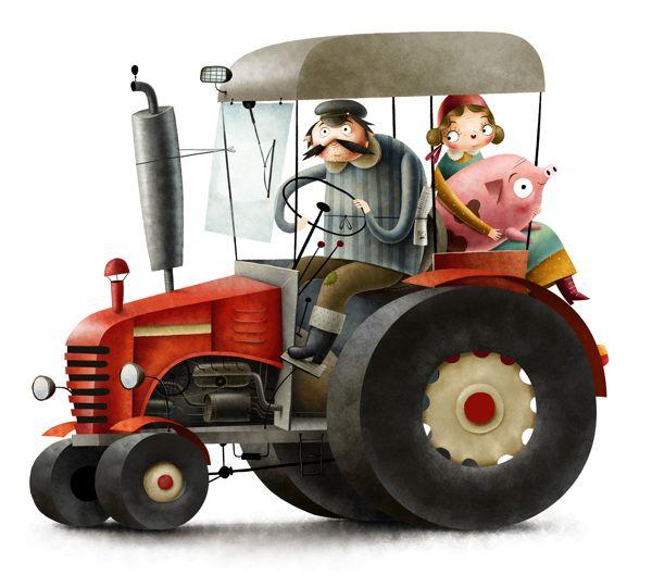 Веселые картинки трактористов
