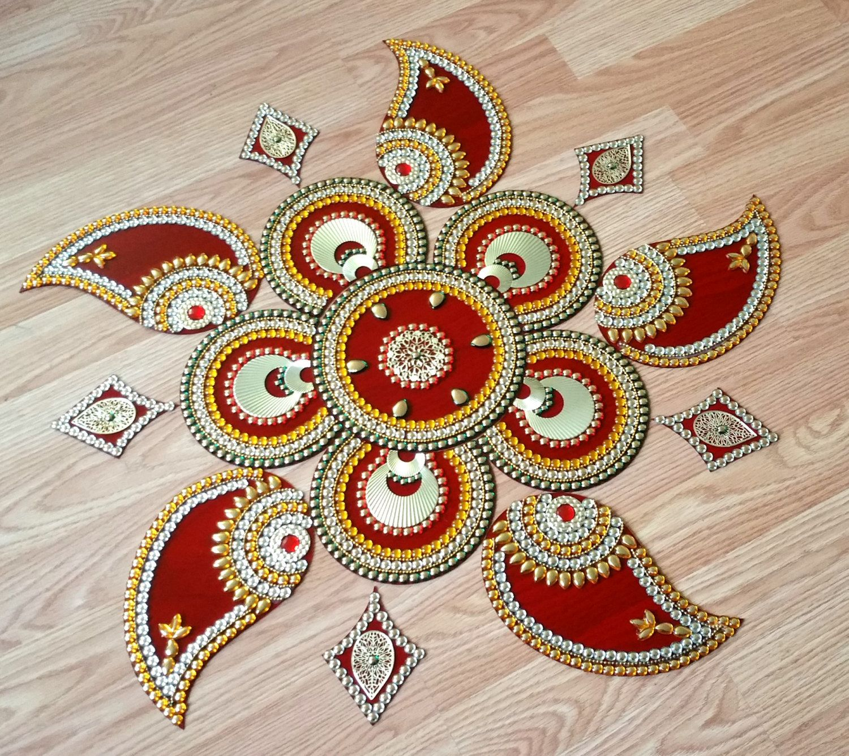 what is Kundan Rangoli Google Search Diwali craft