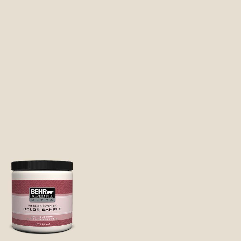 Behr Ultra 8 Oz Ecc 47 2 Elk Horn Matte Interior Exterior Paint And Primer In One Sample Ecc 47 2u Exterior Paint Interior Paint Behr