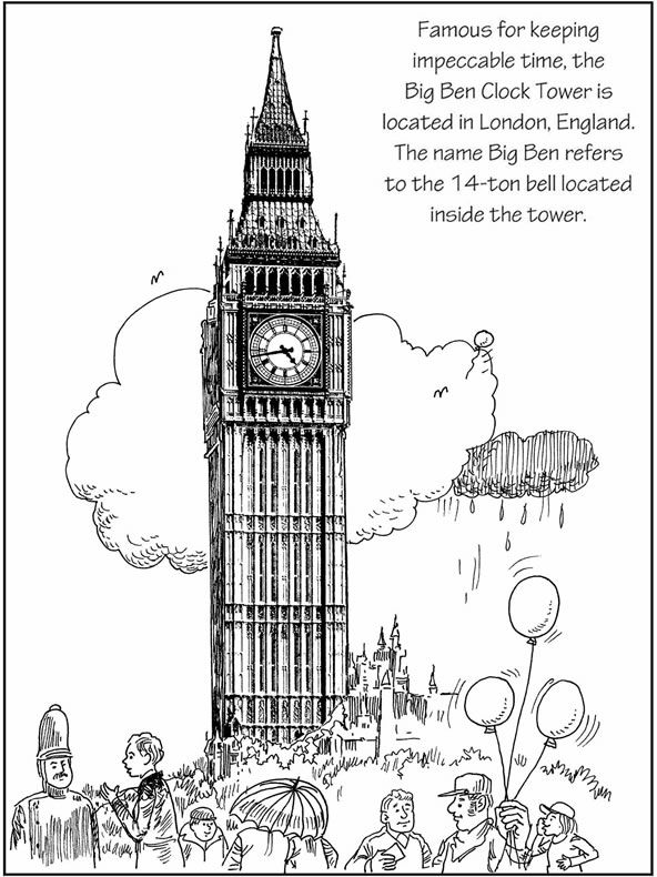 Spot The Differences Around The World 3 Sample Puzzles With Answers Dover Publications World Thinking Day Dover