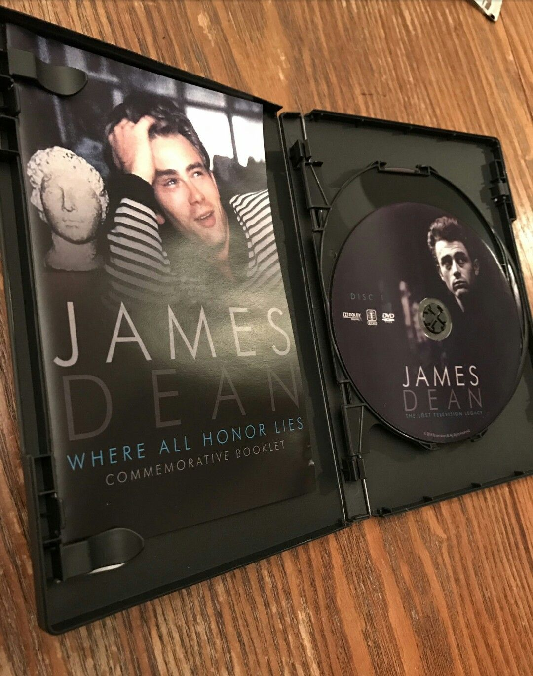 James Dean-The lost television legacy DVD's