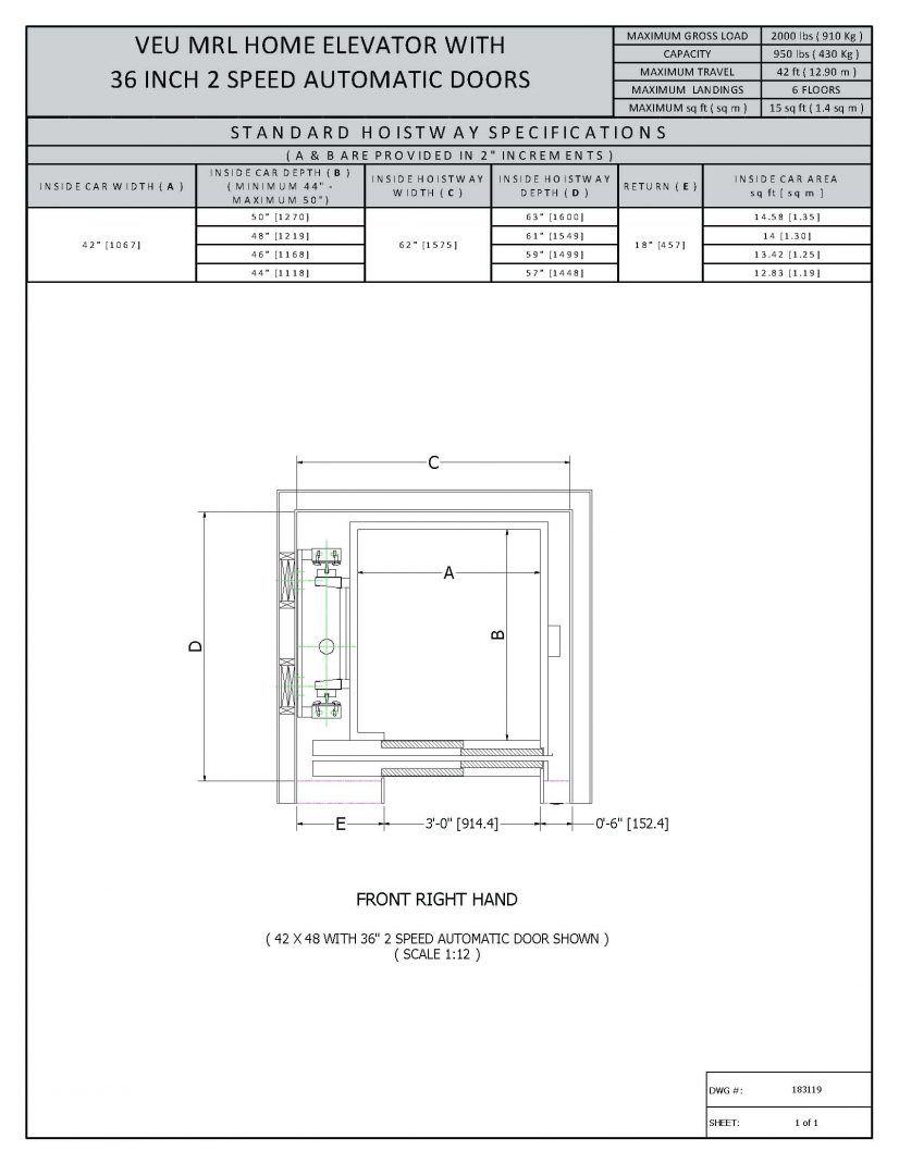 image result for glass elevator dimensions