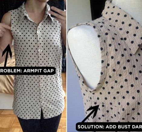 Corte Largas Costura Camisetas Con Viejas Mangas Reciclados Materiales Vestidos E vw11Cq6
