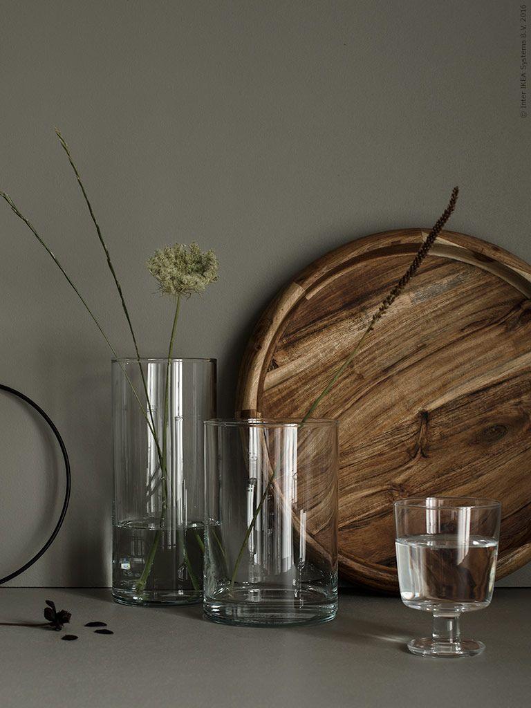 cylinder vas set om 3 saklig fat ikea 365 vinglas. Black Bedroom Furniture Sets. Home Design Ideas