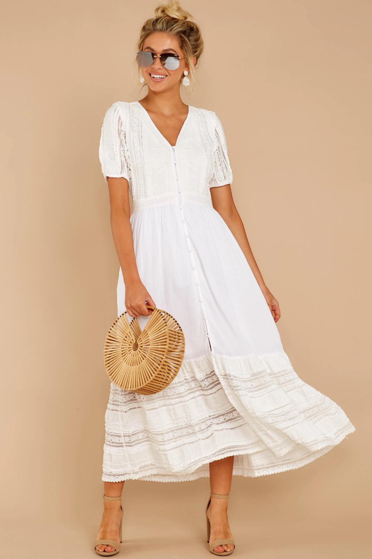 Cute White Lace Maxi Dress Short Sleeve Button Up Maxi Dress 62 Red Dress Maxi Dress White Maxi Dresses White Flowy Dress [ 1500 x 1000 Pixel ]