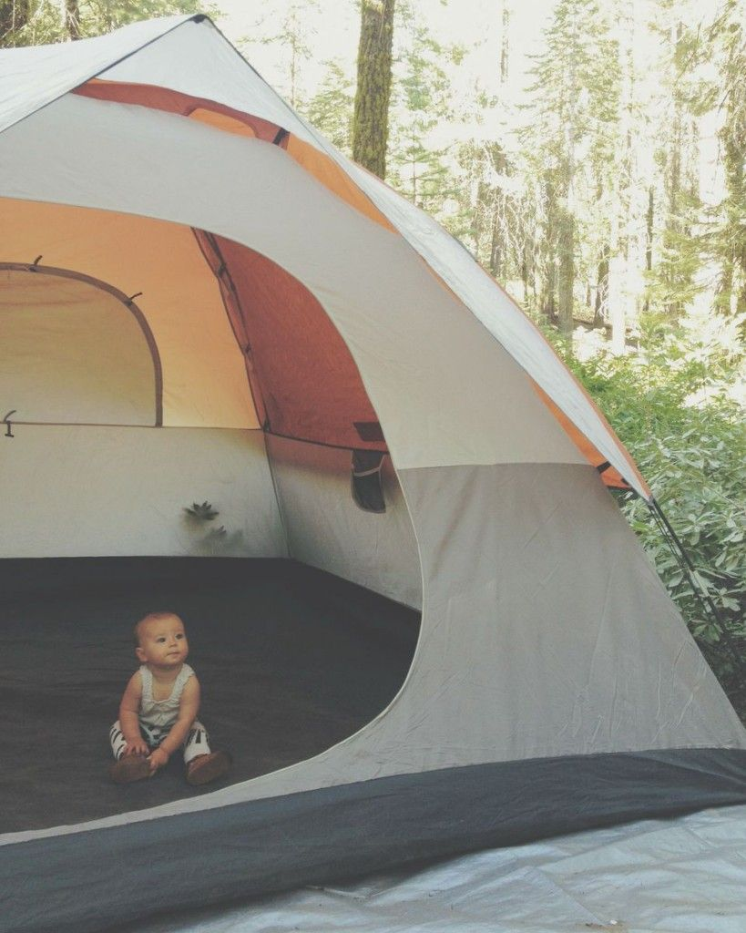 c6ac756f0 Camping with infants and toddlers