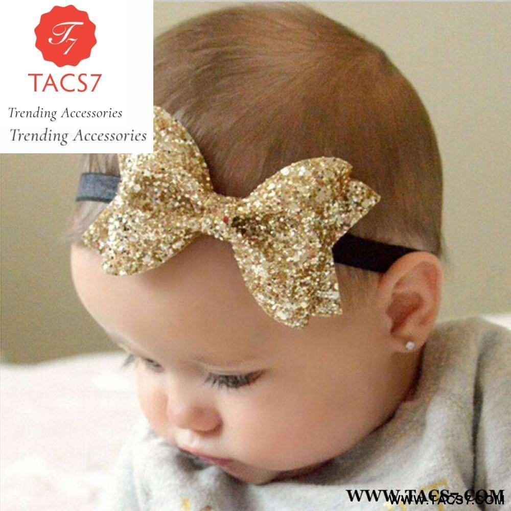Hair Bow Headband For Baby Girls Bow Hairband For Kids Hair Accessories Headwear