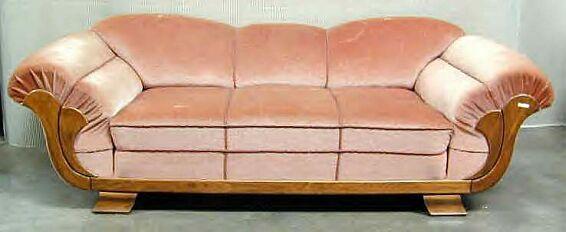 art deco seating ile de france an original french art deco sofa rh pinterest com
