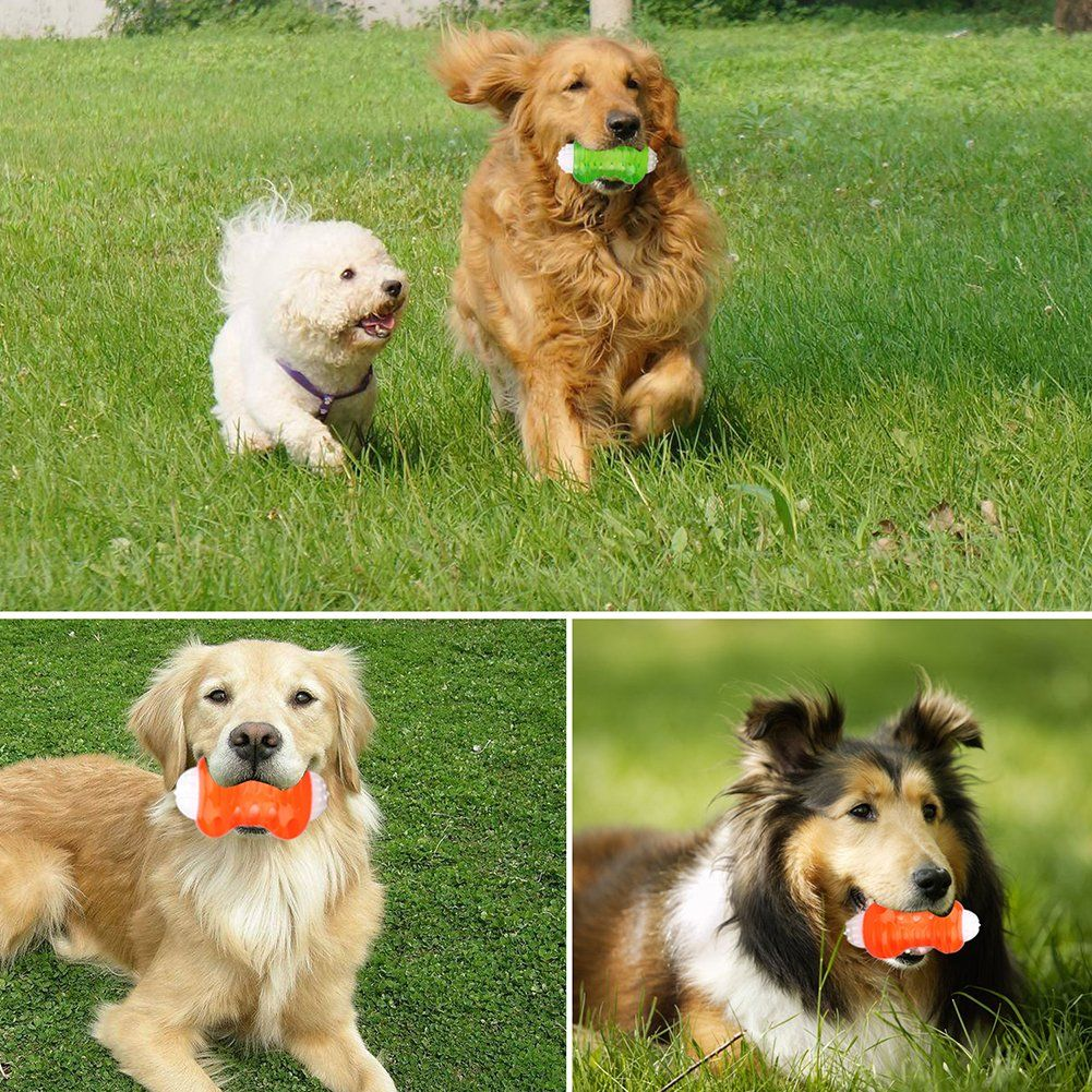 Interactive Dog Balls Toys Durable Ball Rubber Dog Toy Chew Toys