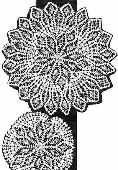 7024 doily free vintage crochet doilies patterns up to 33\