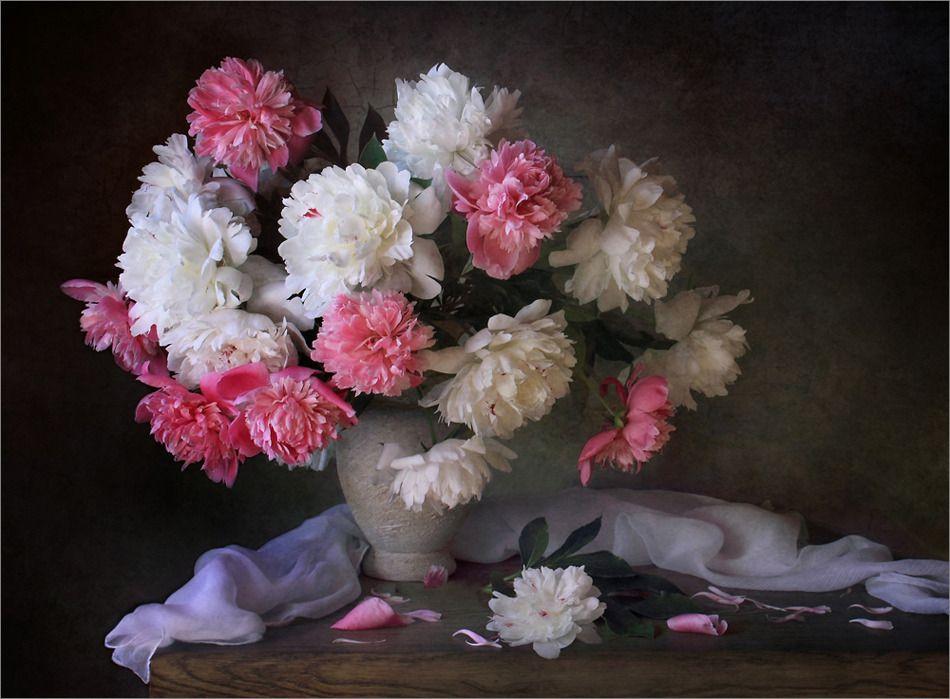 un autre vase de fleurs