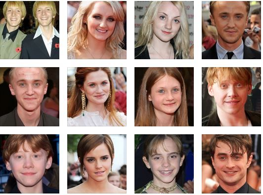 Harry Potter Stars Then And Now Love You Hermione Reckon Talk Fred Weasley George Weasley Matthew Lewis