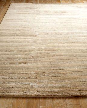 "Neutral rug Milson Lines"" Rug $1,650.00"