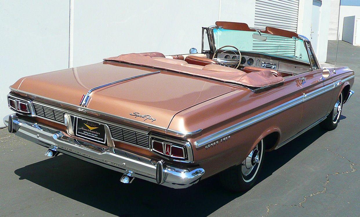 1964 Plymouth Sport Fury convertible Plymouth, Mopar