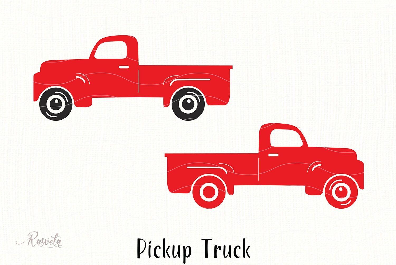 Old Pickup Truck Clipart In 2021 Farm Trucks Pickup Trucks Clip Art