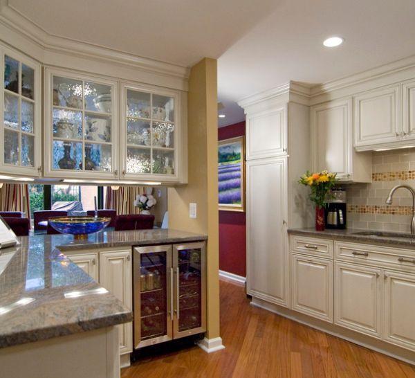 28 Kitchen Cabinet Ideas With Glass Doors For A Sparkling Modern Home Kitchen Design Kitchen Cabinet Design Kitchen Cabinets