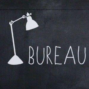 Sticker Bureau (Bord de Scène) - Le Repère des Belettes