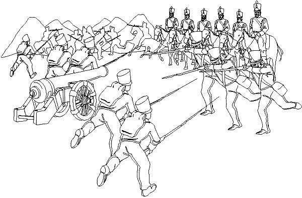 Dibujos Para Colorear Del 7 De Agosto De 1819 Dibujos Para Dibujar Batalla De Boyaca Batalla De La Victoria Batallas