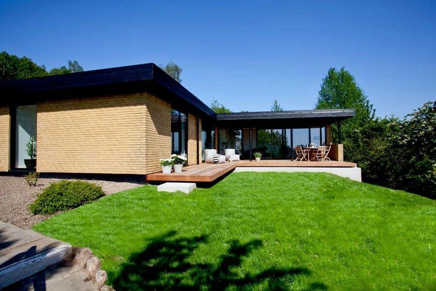 Épinglé par Jannie Sørensen sur Moderne 60er 70er parcelhus - Combien Coute Une Extension De Maison
