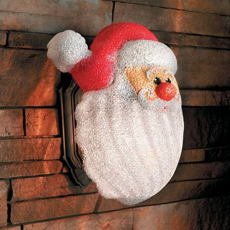 Santa Porch Light Cover Porch Light Covers Porch Lighting Light Covers