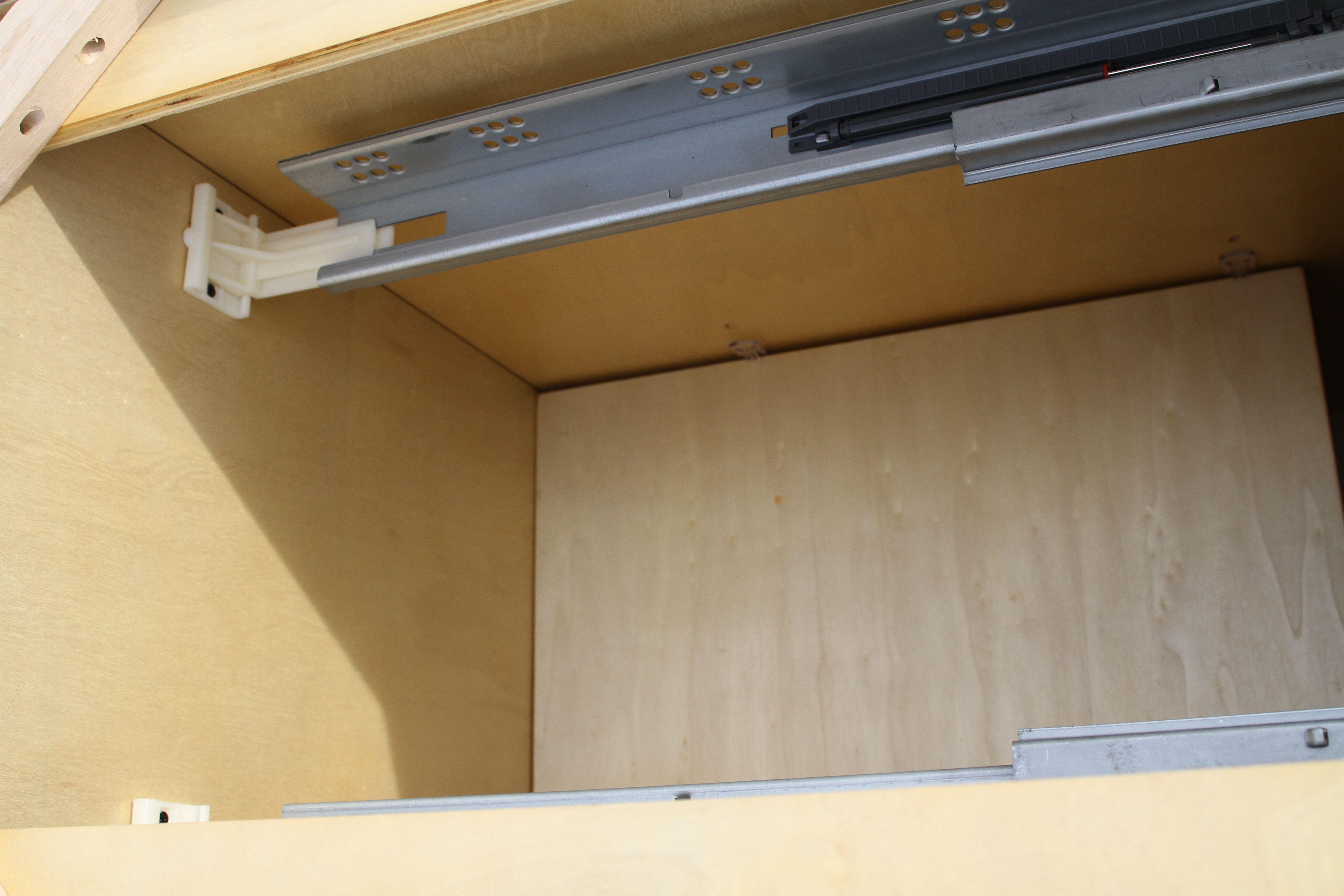Soft Close Kitchen Drawer Slides